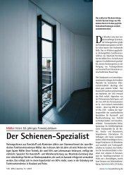 Der Schienen-Spezialist - MÖLLER GmbH & Co KG