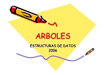 Clases de Arboles