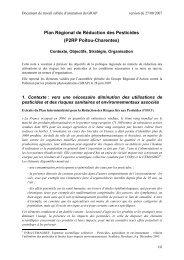 Plan Régional de Réduction des Pesticides (P2RP Poitou-Charentes)