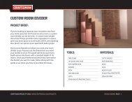 CUSTOM ROOM DIVIDER - Craftsman