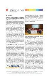 möwe.news Nr. 4/2010 - Amt für Mission, Ökumene und kirchliche ...