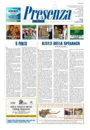 Presenza n. 16 del 5/8/2012 - Arcidiocesi di Ancona-Osimo