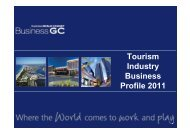 Tourism Industry Business Profile 2011 - Business Gold Coast