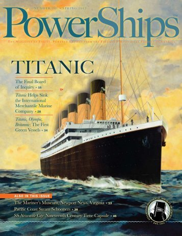 TiTanic - Steamship Historical Society of America