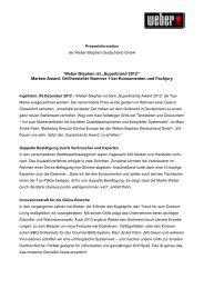 Superbrand 2012 - Weber - Der Grill. Das Original.