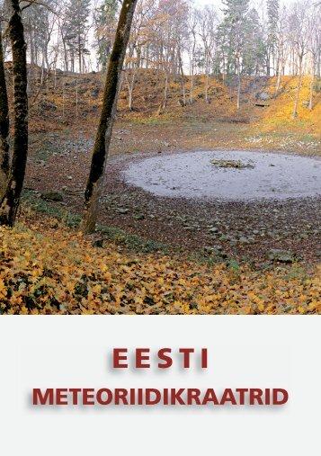 Eesti meteoriidikraatrid (2006) - Geoloogia Instituut