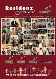 Ausgabe Oktober 2012   Seite 1 - Seniorenresidenz Moseltal