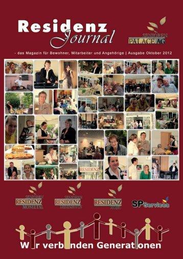 Ausgabe Oktober 2012 | Seite 1 - Seniorenresidenz Moseltal