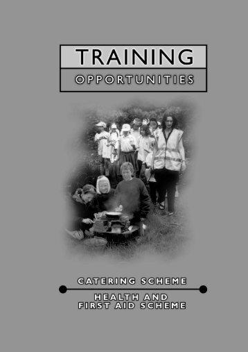 6480_TrainingOppsCatering_01_15:Cat & health ... - Girlguiding UK