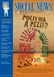 i progetti del governo, l antiberlusconismo, il ... - SocialNews