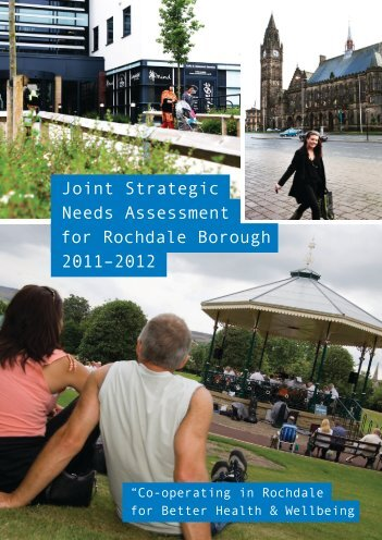 Joint Strategic Needs Assessment for Rochdale Borough 2011–2012