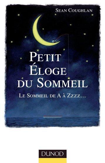 PETIT ÉLOGE DU SOMMEIL - Dunod
