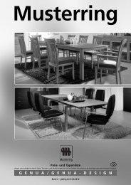 GENUA / GENUA - DESIGN Musterring - Möbel Rulfs