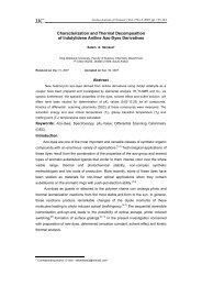 Characterization and Thermal Decomposition of ... - Jjc.yu.edu.jo
