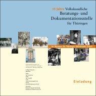 Beratungs - Museum für Thüringer Volkskunde Erfurt