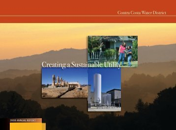 2008 Annual Report - Contra Costa Water District