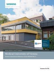 Medical University of Vienna brochure 1.92MB - Siemens Healthcare