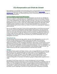 Conservation Carbon Offsets