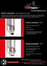 Fenêtre coulissante - Made-in-algeria.com