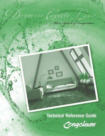 2013 TechRefGd ENG.pdf - Congoleum.com