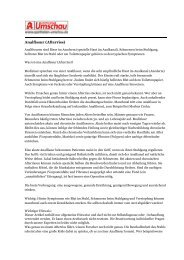 Analfissur (Afterriss) - Proktologische Praxis Freiburg