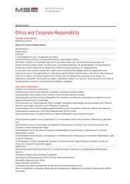 Ethics and Corporate Responsibility - Master of Science in ...