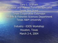 Gary Graham - Texas A&M University