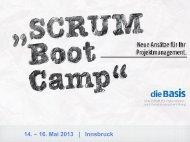 14. – 16. Mai 2013 | Innsbruck - die Basis