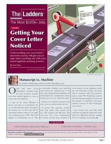 cover letter for partial manuscript