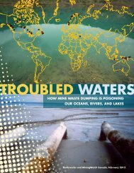 Troubled Waters: How Mine Waste Dumping is Poisoning - Earthworks