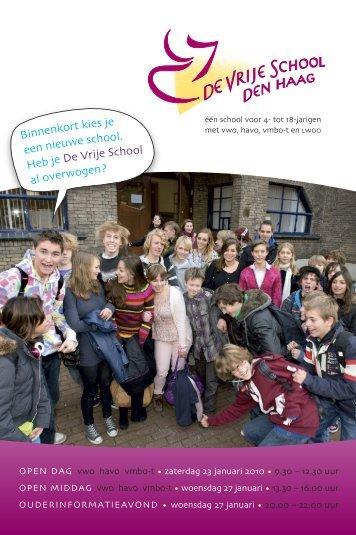 Wervingsbrochure voor leerlingen - Matla Media