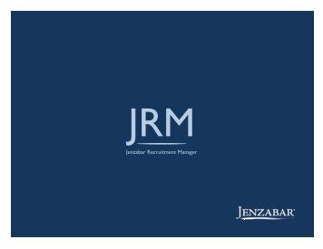 Jenzabar Recruitment Manager