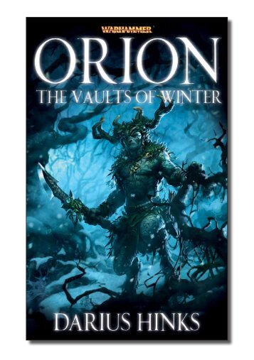 an extract of Orion - The Black Library