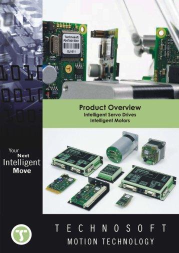 Catalog of Technosoft Intelligent Drives and Motors