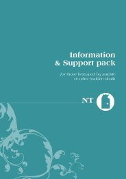 Information & Support pack NT - Living is for Everyone