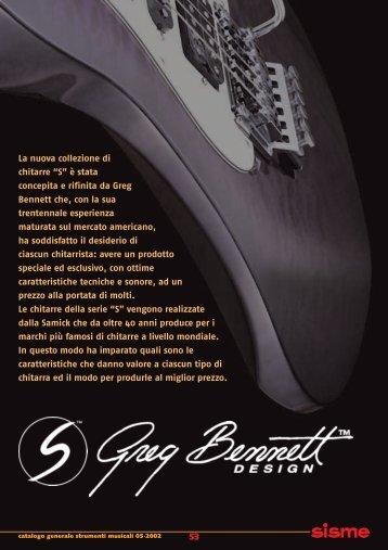 """53 La nuova collezione di chitarre """"S"""" è stata concepita e rifinita da ..."""