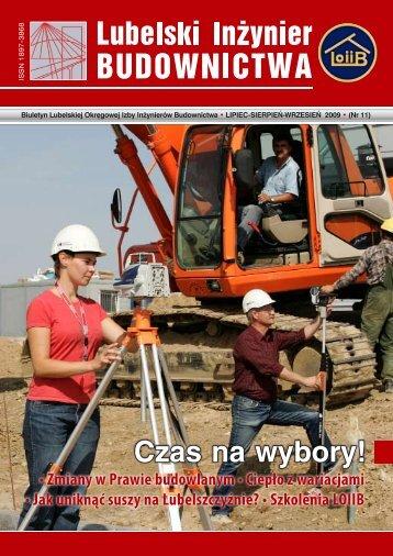 Nr 11. Pobierz w formacie PDF - Lubelska Okręgowa Izba ...