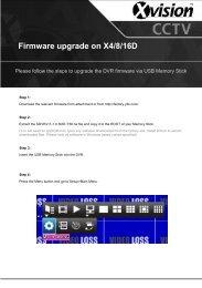 Firmware upgrade on X4/8/16D - Y3k.com
