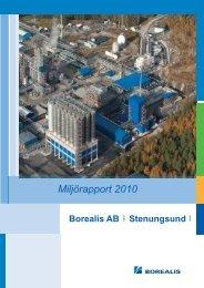 Miljörapport 2010