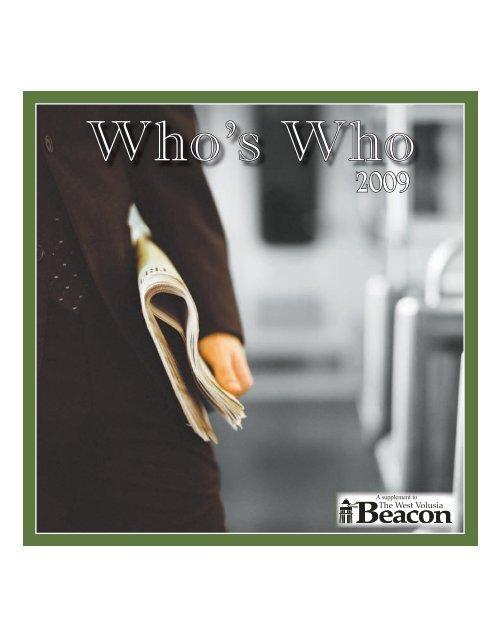 Who's Who 2009 - The DeLand Beacon