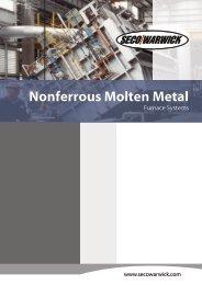 AP   Nonferrous Molten Metal Furnace Systems - Seco-Warwick