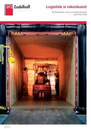 Logistiek is rekenkunst - DTZ Zadelhoff
