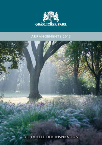 Arrangements des Gräflichen Parks Bad Driburg 2013