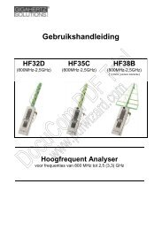 Handleiding HF35C - Vitalitools