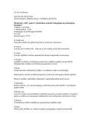 LU 66. konference - LU Pedagoģijas, psiholoģijas un mākslas ...