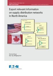 Export relevant information on supply distribution networks in - Moeller