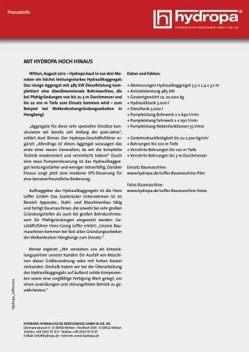 + Leffer-Aggregat als .pdf-Datei - Hydropa GmbH & Cie. KG