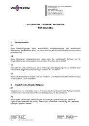 Lieferbedingungen Anlagen mit Eigentumsvorbehalt (Deutschland)