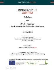 Programm und Anmeldung - Zentrale Arbeitsgemeinschaft ...