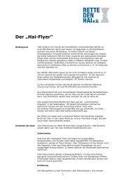 """Der """"Hai-Flyer"""